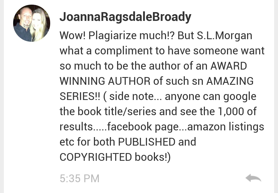 Plagiarism dealt with! Not by wattpad, but by readers