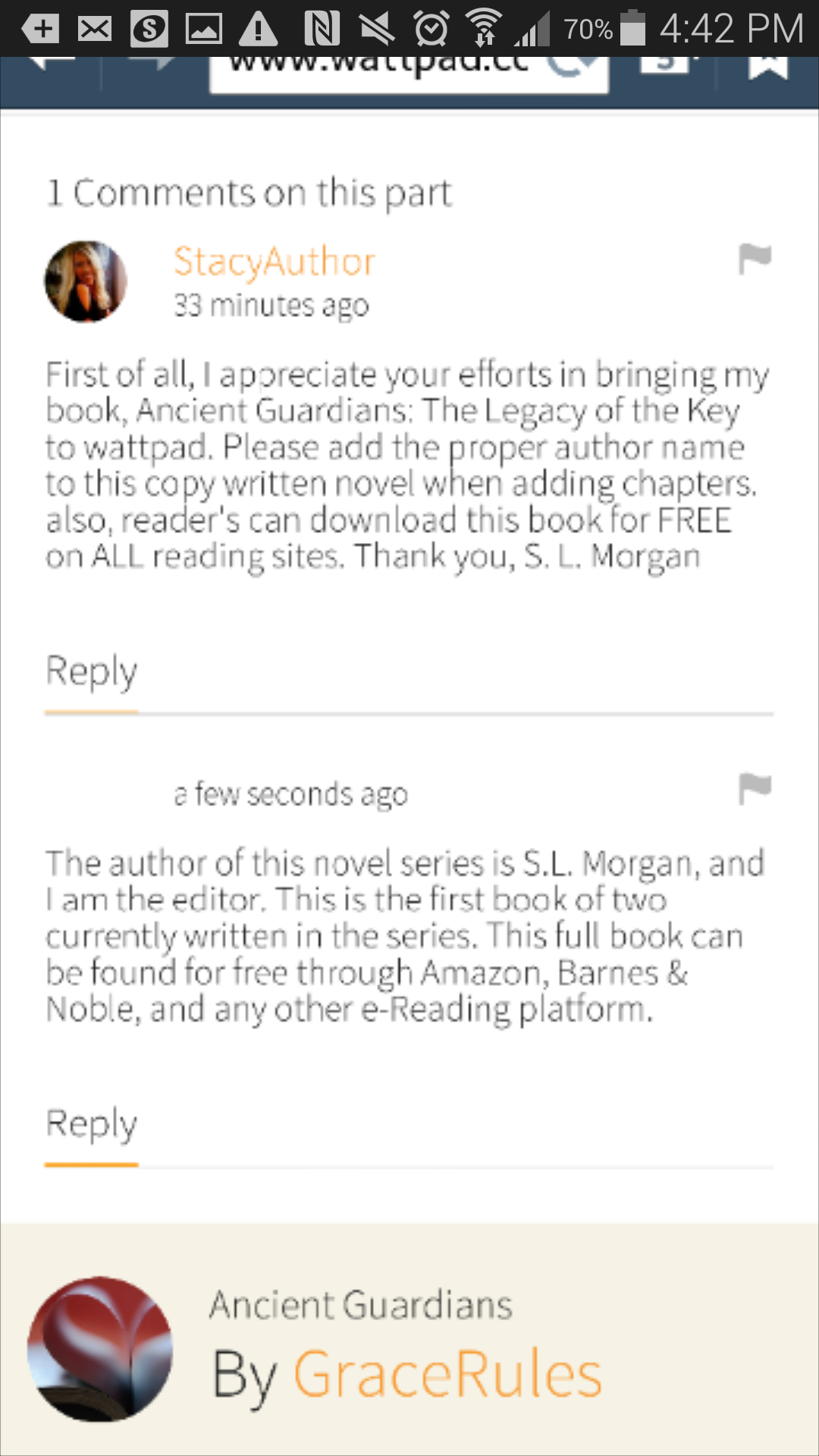 Plagiarism on wattpad: Attention fellow authors & Readers